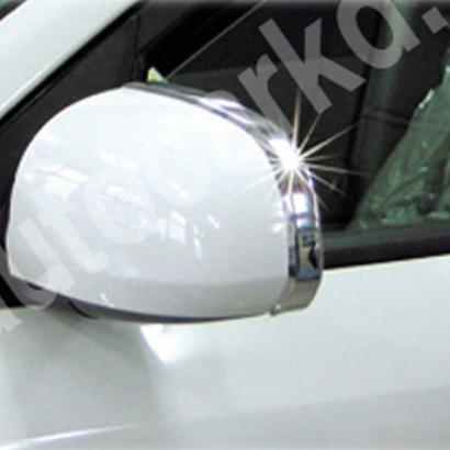 Накладки на боковые зеркала на Hyundai Sonata 5 (NF)
