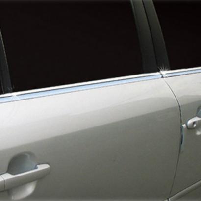 Молдинги боковых окон на Hyundai Sonata 5 (NF)