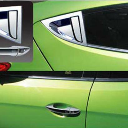 Молдинг ручек дверей на Hyundai Veloster