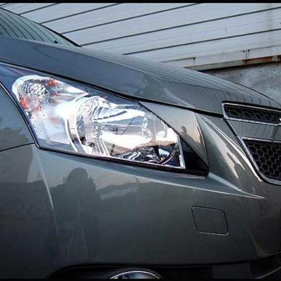 Реснички на фары (передние + задние) на Chevrolet Cruze 2