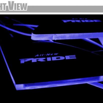 Светодиодные вставки под внутренние ручки дверей на Kia Rio 3