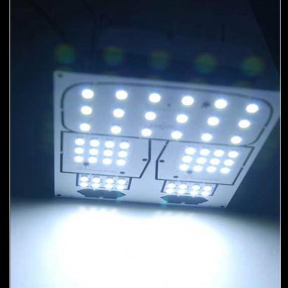Светодиодные модули подсветки салона на Kia Sportage 3 (III)