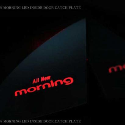 Вставки под внутренние ручки дверей с подсветкой на Kia Picanto 2