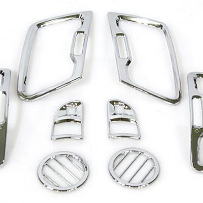 Декоративные накладки на воздуховоды на Kia Sportage 3 (III)