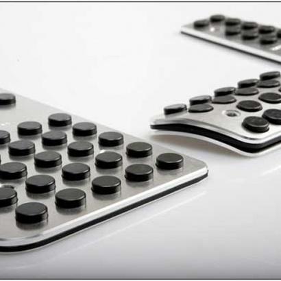 Накладки на педали на Hyundai Elantra 5 (Avante MD)