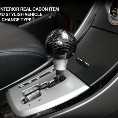 Ручка рычага коробки передач на Hyundai Elantra 5 (Avante MD)