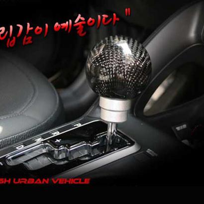 Ручка рычага коробки передач на Hyundai ix55