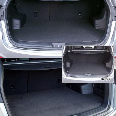 Коврик в багажник на Hyundai ix35