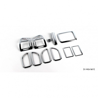Декоративные накладки в салон на Hyundai Sonata 5 (NF)