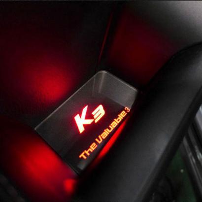 Светодиодные вставки в дверные карманы на Kia Cerato 3