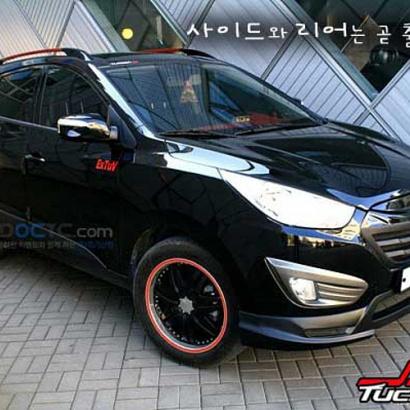 Комплект обвеса на Hyundai ix35