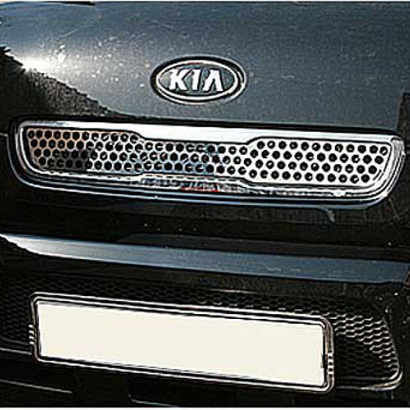 Вставка решетки радиатора на Kia Soul 1 поколение
