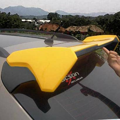 Спойлер на крышу на Hyundai ix35