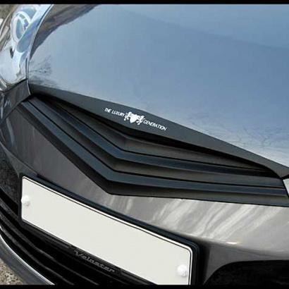 Тюнинг решетка радиатора на Hyundai Veloster