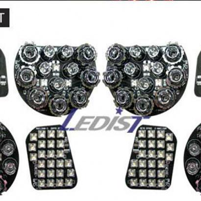Светодиодные модули задней оптики на Chevrolet Captiva