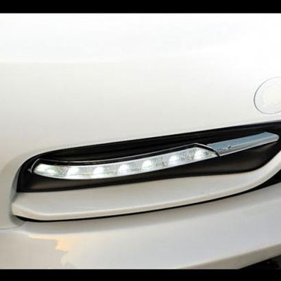 Дневные ходовые тюнинг огни на Kia Cerato 3