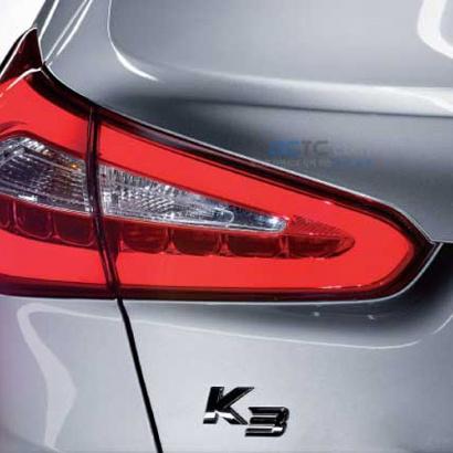 Задние тюнинг-фонари на Kia Cerato 3
