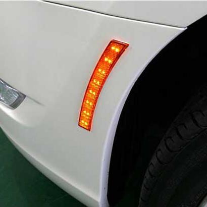 Светодиодные рефлекторы на Chevrolet Captiva