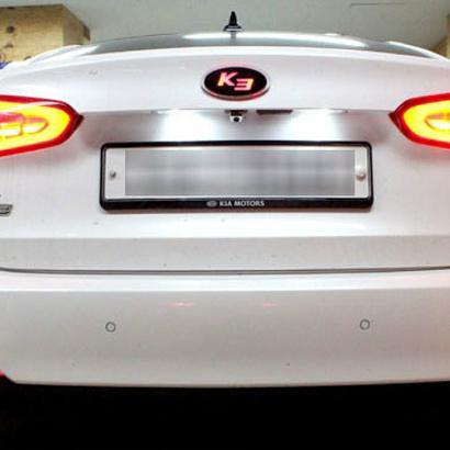 Задние светодиодные рефлекторы на Kia Cerato 3