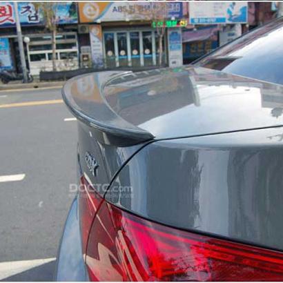 Спойлер на крышку багажника на Chevrolet Cruze 2