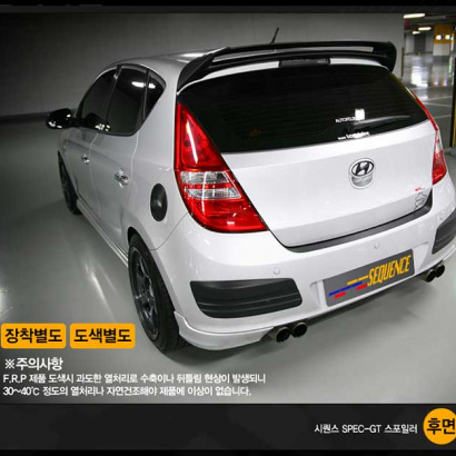 Спойлер на крышу на Hyundai i30