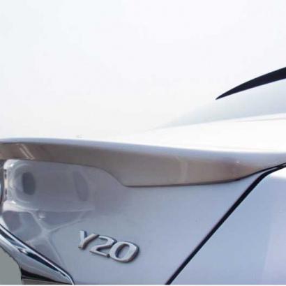 Спойлер на крышку багажника  на Hyundai Sonata 6 (YF)