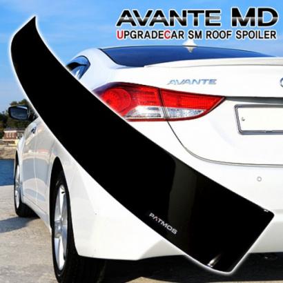 Спойлер на крышу на Hyundai Elantra 5 (Avante MD)