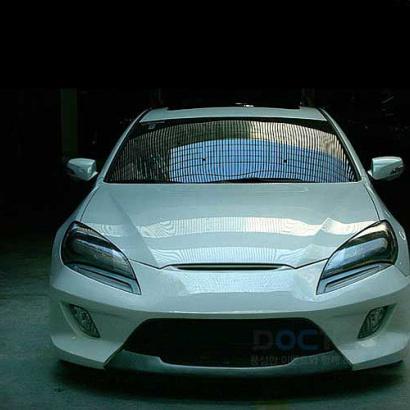 Передний бампер на Hyundai Genesis 1