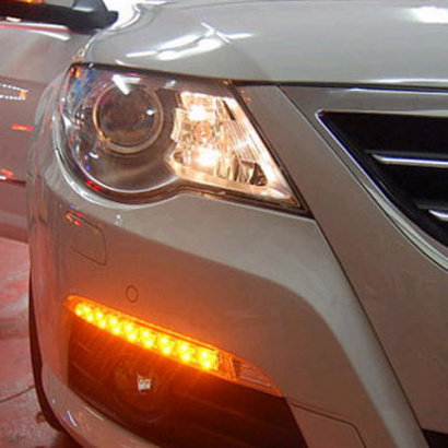 Ходовые огни + указатели поворотов - модули на VW Passat CC 1