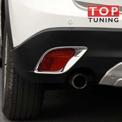 Реснички задних противотуманных фар на Mazda CX-5 1 поколение