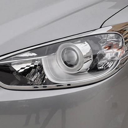 Реснички - накладки на передние фары на Mazda CX-5