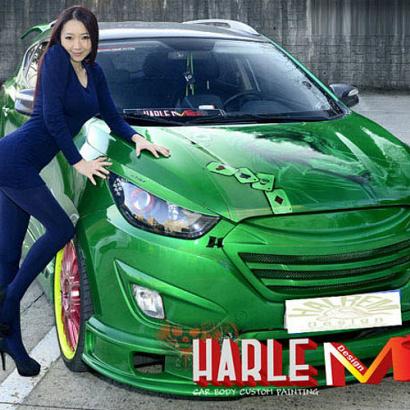 Обвес - комплект на Hyundai ix35