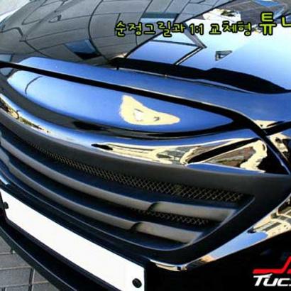 Тюнинг решетка радиатора на Hyundai ix35