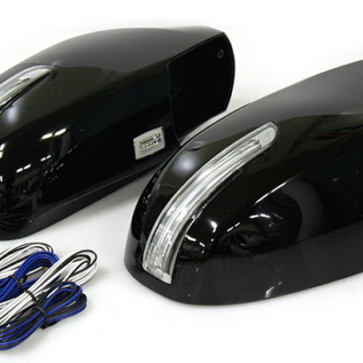 Корпуса зеркал заднего вида с поворотниками на Hyundai ix35