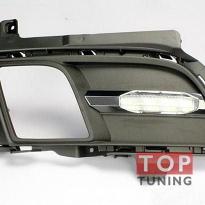 Светодиодные ходовые огни на Mazda 6 GH