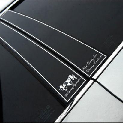 Накладки стоек на Hyundai Grandeur 5