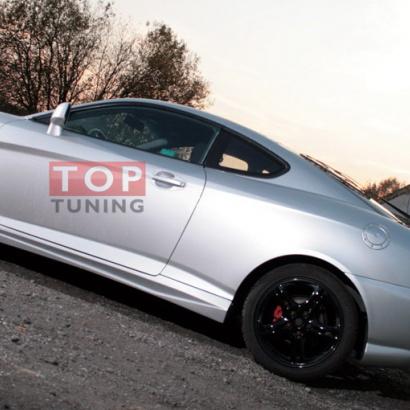 Пороги - тюнинг на Hyundai Tiburon Coupe GK