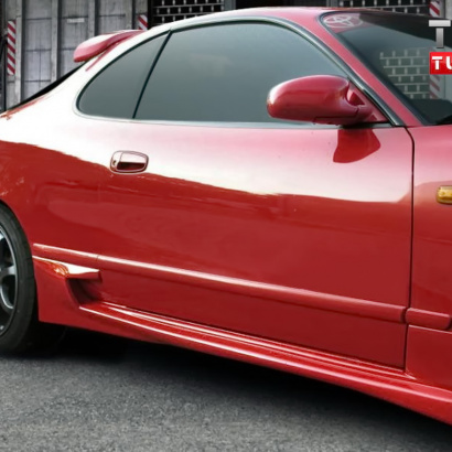 Пороги - тюнинг на Toyota Celica T18
