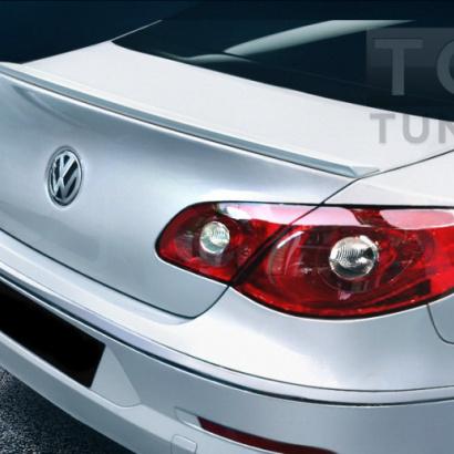 Лип спойлер багажника на VW Passat CC 1