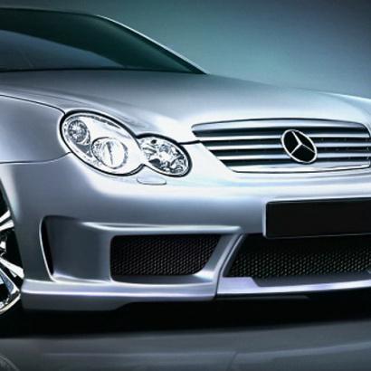Передний бампер - Обвес Panther на Mercedes C-Class W203_S203_CL203