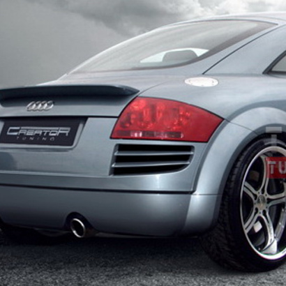 Задний бампер - Тюнинг на Audi TT 8N