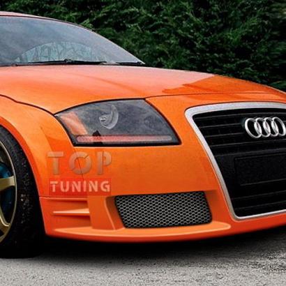 Передний бампер - Тюнинг на Audi TT 8N