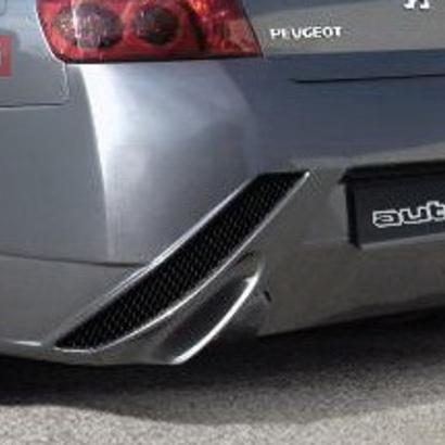 Задний бампер - Тюнинг на Peugeot 407 1