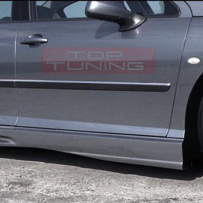 Пороги - Тюнинг на Peugeot 407 1