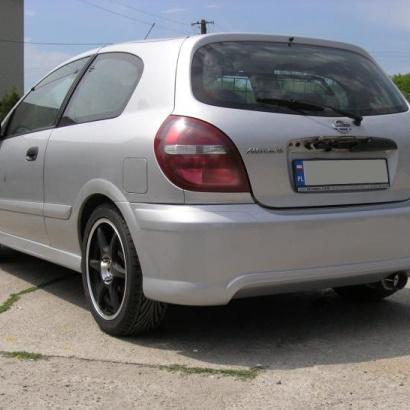 Задний бампер - обвес на Nissan Almera 2 N16
