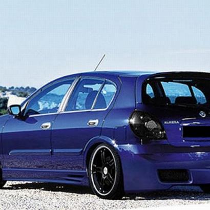Пороги - тюнинг на Nissan Almera 2 N16