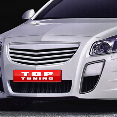 Передний бампер - Обвес на Opel Insignia 1