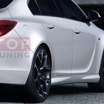 Пороги - тюнинг на Opel Insignia 1