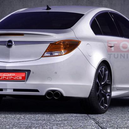 Задний бампер - тюнинг на Opel Insignia 1