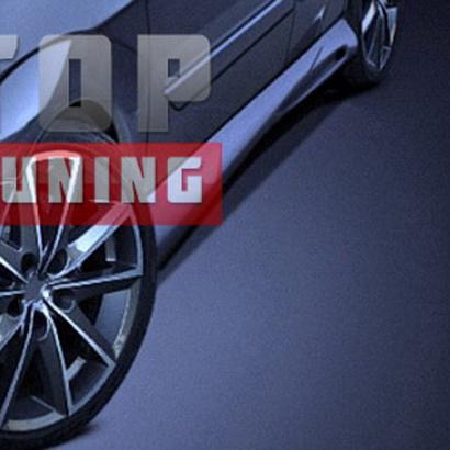 Пороги - тюнинг на Ford Focus 1